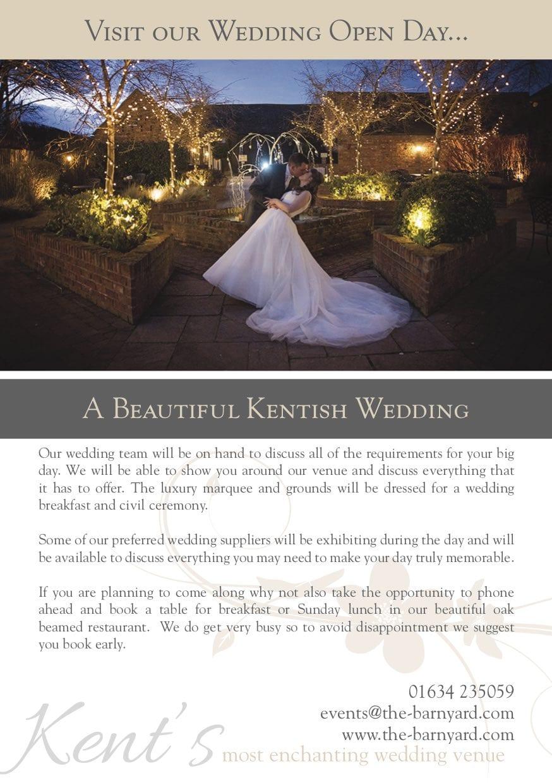 Wedding Opening Day at The BarnYard