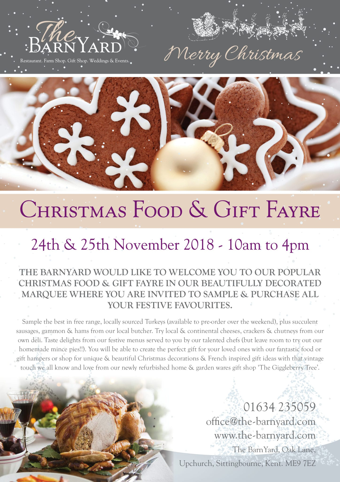 Christmas Food & Fayre Flyer