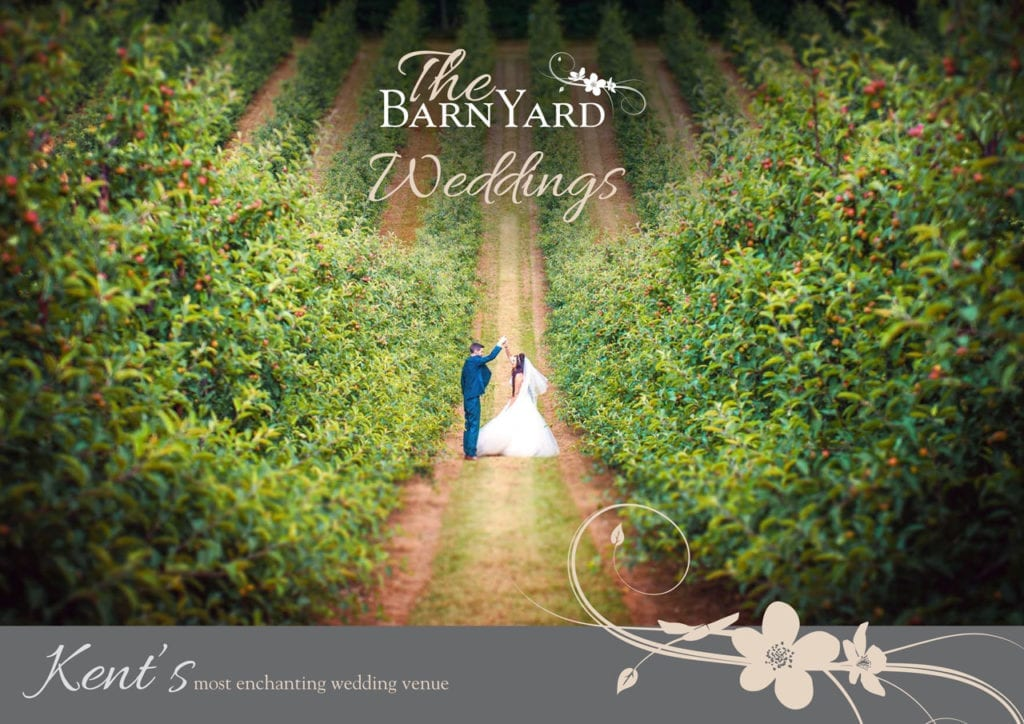 The BarnYard Wedding Brochure Front Cover